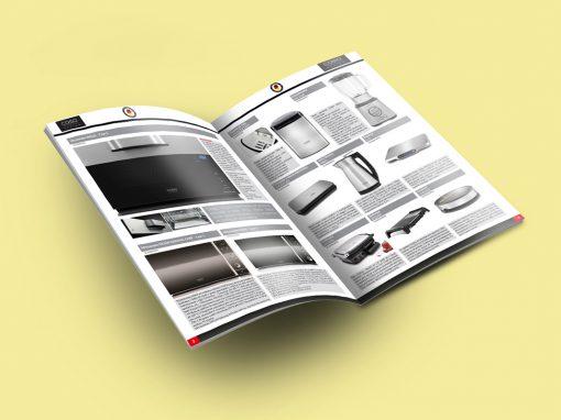 Design Gráfico & Impressão Digital – Catálogo CASO