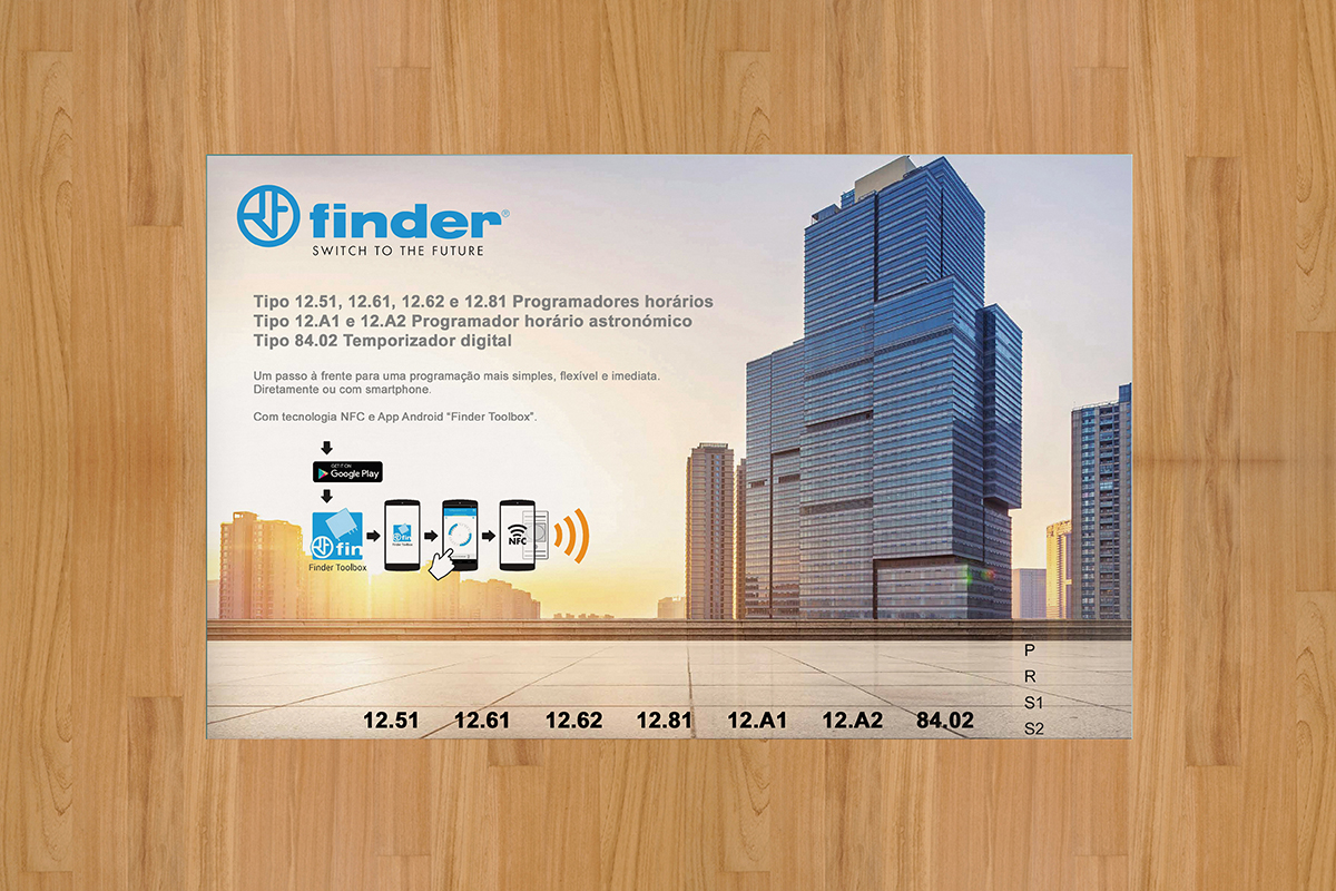 Placa PVC FINDER